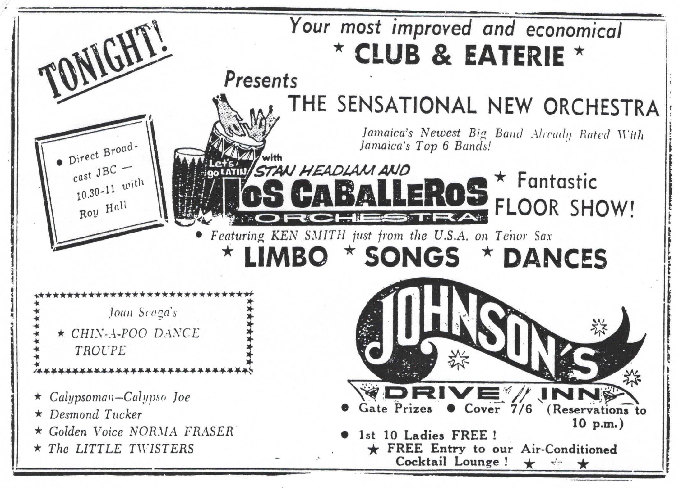 Johnson's Drive Inn Jamaica