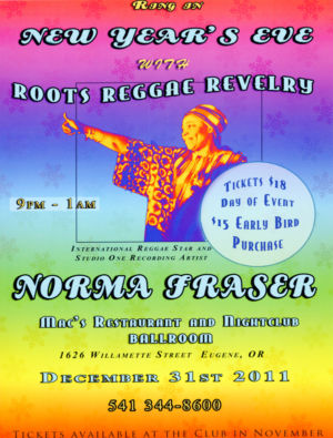 New Year\'s Eve With Roots Reggae Revelry - 2011